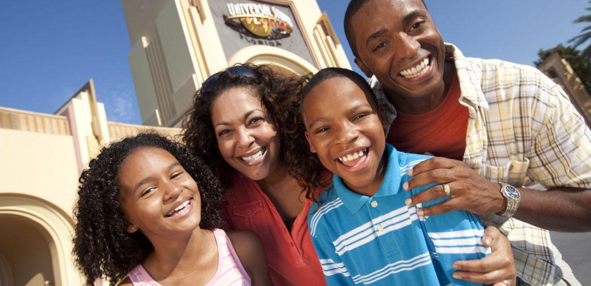 Universal Studios FL Family
